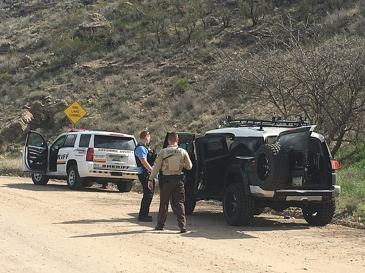 At 9:49 a.m., Yavapai County Sheriff's Office spokesman Dwight D'Evelyn said YCSO units now have the suspect in custody in Rimrock, along Bice Road. CCSO detectives are now on the scene.
