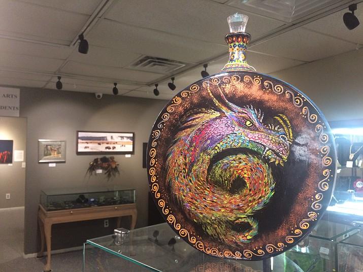"""Dragon"" by Cynthia Strang. (Jason Wheeler/Courier)"