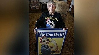 Camp Verde resident opens up about her time as Rosie the Riveter photo