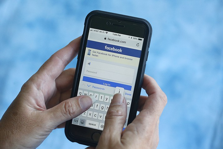 Facebook said Thursday, March 21, 2019, that it stored millions of its users' passwords in plain text for years. The acknowledgement from the social media giant came after a security researcher posted about the issue online. (AP Photo/Wilfredo Lee, File)