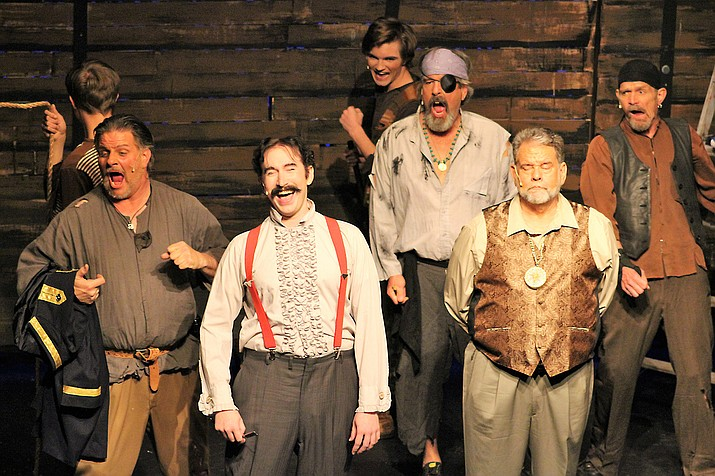 """Prescott Center for the Arts' """"Peter and the Starcatcher"""", a prequel to """"Peter Pan"""", is running through Sunday, March 31. (Susan Lanning/Courtesy)"""