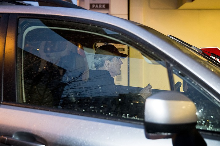 Special Counsel Robert Mueller arrives at his office building, Thursday, March 21, 2019, in Washington. Mueller has concluded his investigation into Russian election interference and possible coordination with associates of President Donald Trump. (Andrew Harnik/AP)