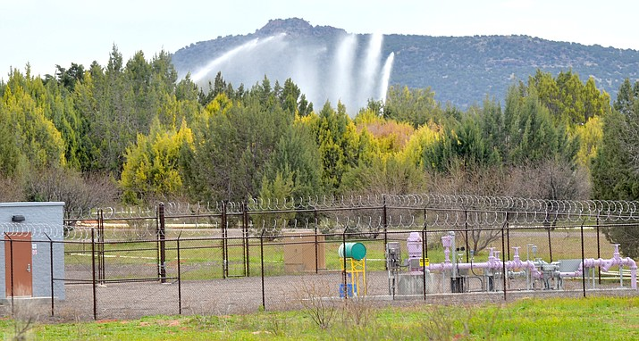 Reclaimed water is sprayed on land along SR89A across the highway form the City of Sedona's wastewater treatment plant. A resident has suggested growing hemp as a use for the land and reclaimed water, VVN/Vyto Starinskas
