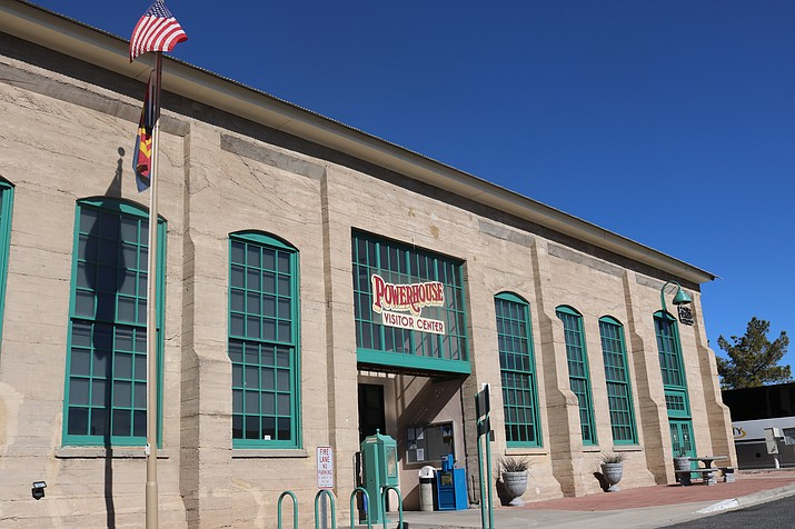 Kingman's Economic Development and Marketing Commission will discuss how the City can get the best use out of the Powerhouse Visitor Center. (Photo by Travis Rains/Daily Miner)