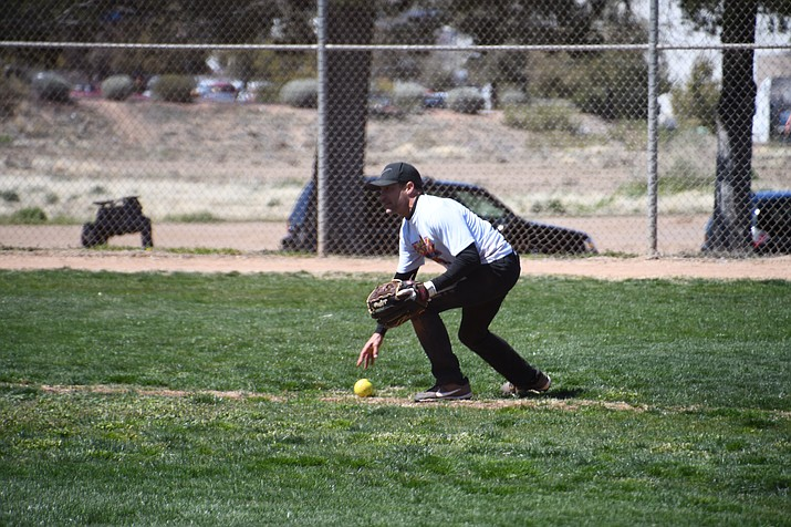 A way to stay healthy is exercise like going to the park and playing softball. Mohave County Department of Public Health and Kingman Regional Medical Center are conducting a survey to hear from community members about health needs in the County. (Photo by Vanessa Espinoza/Daily Miner)