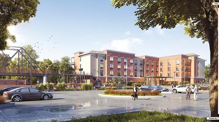 Hilton Garden Inn rezoning up for review by Prescott Council