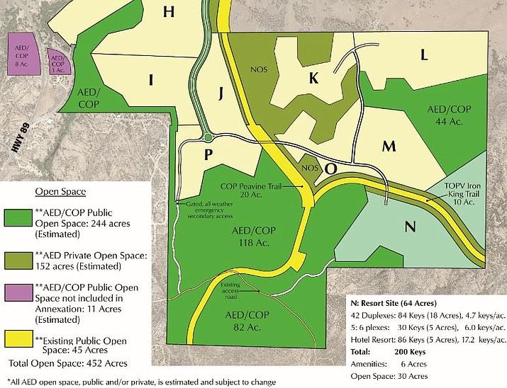 Arizona Eco Development's proposal, as of March 25, 2019. (Courtesy)