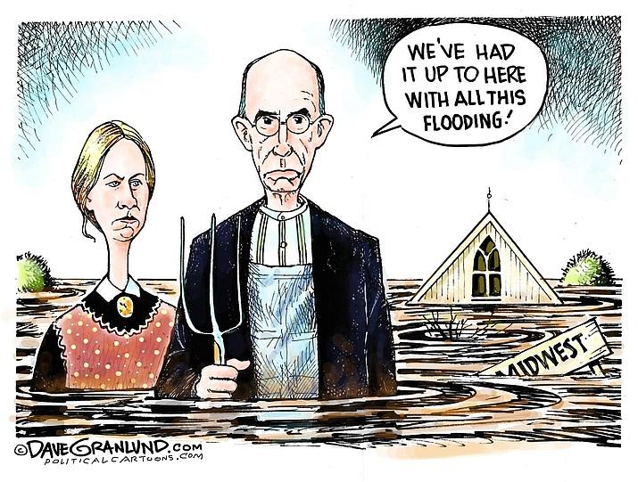 Editorial Cartoon (1): March 26, 2019