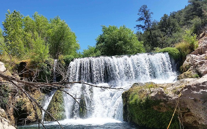Visitors to Fossil Creek can begin making reservations through an online seasonal permit system starting April 1. (Photo/USFS)