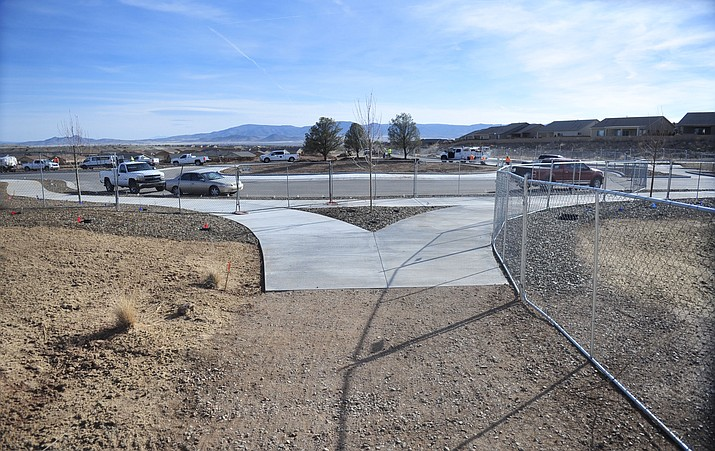 First roundabout heading into Jasper subdivision. (Les Stukenberg/Tribune)
