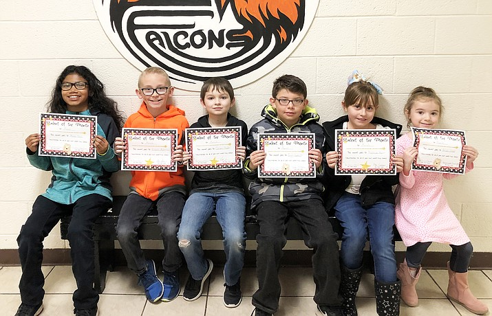 Students of the Month for Williams Elementary-Middle School include Ariah Sneed, Kaydence Mason, Juan Lopez Jr., Carson Hadder and Lincoln McKinnon. (Photo/Williams-Elementary Middle School)