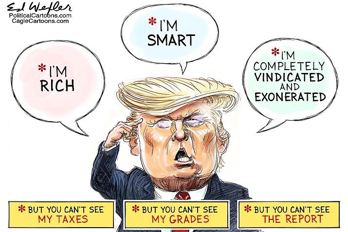 Editorial cartoon (1): April 1, 2019