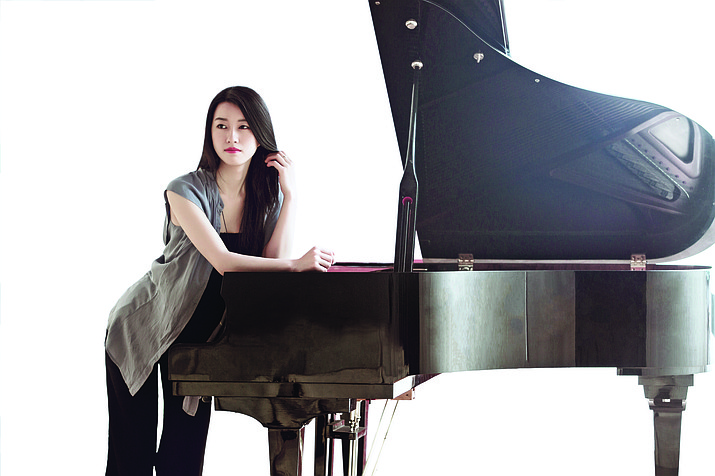 Currently a scholarship student at the Thornton School of Music, University of Southern California, Echo Wang will perform the Grieg Piano Concerto in A minor Sunday, April 7, 2:30 p.m., in the Sedona Performing Arts Center.