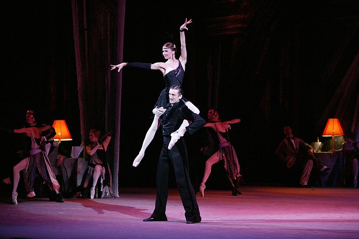 With its passionate love story featuring beautiful duets between Boris and Rita, the Bolshoi dancers plunge into every stylized step and gesture magnificently.