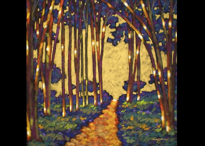 When Im Looking For The Light by R John Ichter - Gallery of Modern Masters