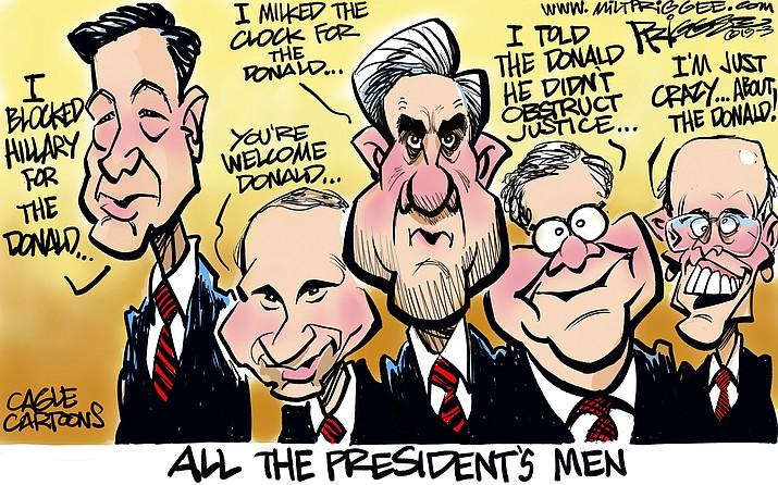 Editorial cartoon (1): April 2, 2019