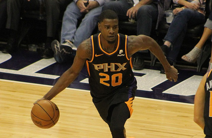 Josh Jackson had 19 points and 10 rebounds Monday night as the Suns picked up a 122-113 victory over the Cavaliers. (Daily Miner file photo)