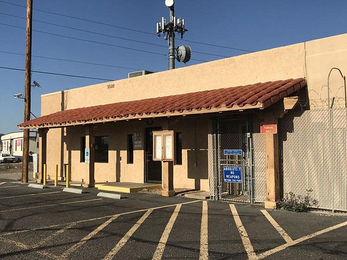 The sheriff's substation on State Route 95 could get a new home near Interstate 40 if Mohave County supervisors proceed with a satellite county campus. (Brandon Messick/For The Daily Miner)