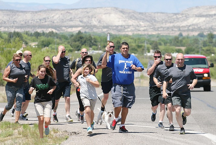 On April 30, the Camp Verde Marshal's Office will participate in the annual Special Olympics Arizona Torch Run. Camp Verde's law enforcement will bicycle east on SR 260 to Wilshire Blvd. where they will meet with special Olympians, who will pass the torch to Arizona Department of Public Safety. VVN/Bill Helm