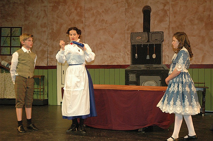 """Mary Poppins-The Musical,"" 7 p.m. Friday and Saturday, April 5-6; 2 p.m. Saturday, April 6; 3 p.m. Sunday, April 7, Yavapai College Performing Arts Center, 117 E. Sheldon St. Tickets start at $35 or are $10 for 18 and younger with a $4 service fee added to each ticket. www.ycpac.com."
