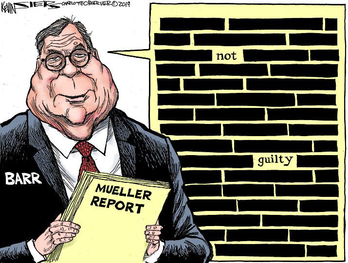 Editorial cartoon (2): April 5, 2019