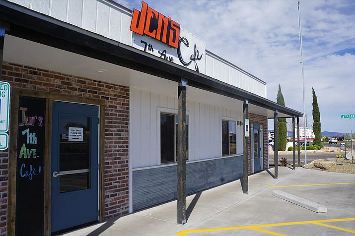 Jen's 7th Ave. Café opened for business recently along Prescott Valley's Highway 69 frontage road near Valley View Drive. The breakfast-and-lunch spot offers specialties such as house-made corned beef hash and French toast made from brioche bread. (Cindy Barks/Courier)
