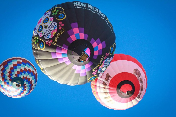 This year's Havasu Balloon Festival, the three-day event raised about $150,000 in January, approximately matching earnings made by the festival in 2018. (Photo by Julie Wilson via the Today's News-Herald)