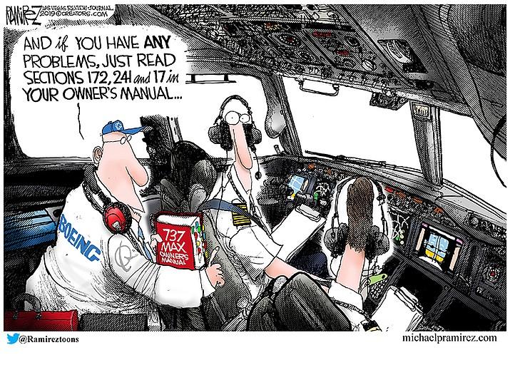 Editorial Cartoon | April 9, 2019