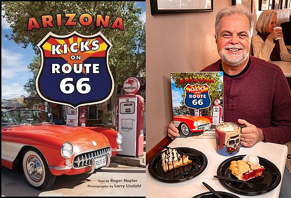 """This year's featured book is """"Arizona Kicks on Route 66"""" by travel writer Roger Naylor. Copies of the book are available at Sedona Public Library."""