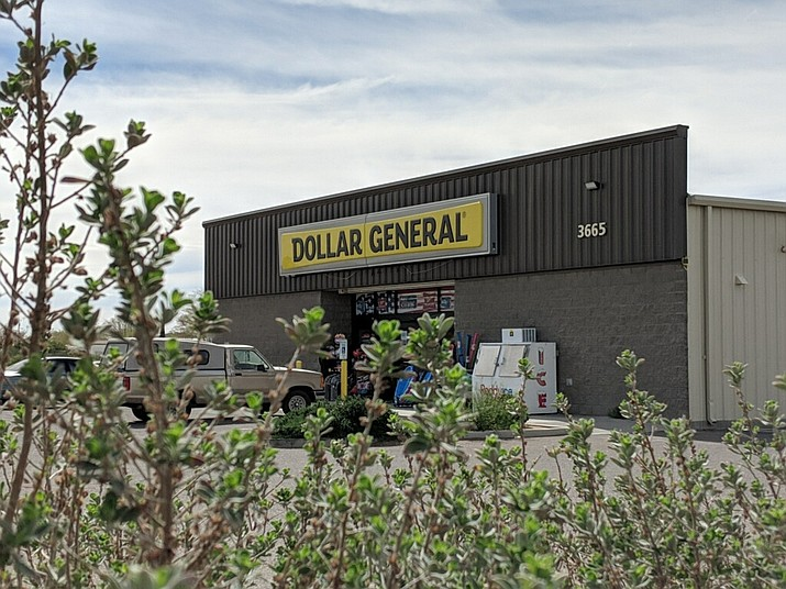 The Dollar General store at 3665 Andy Devine Ave. that was robbed on or about July 1, 2018. The incident, according to law enforcement, resulted in a shootout with officers of the Kingman Police Department. (Photo by Travis Rains/Daily Miner)