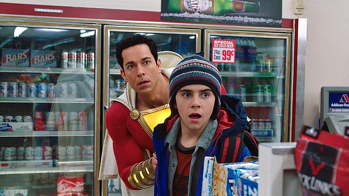 Shazam is a comic book film that goes beyond the usual CGI fantasy play and offers some laughs before the happy ending. The performances by the main characters are very good, especially Zachary Levi playing Shazam.
