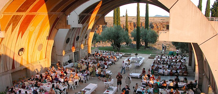 Arcosanti, near Cordes Junction, will be the site for the inaugural Arcosanti International Film Carnivale, April 26-28. (Arcosanti/Courtesy)