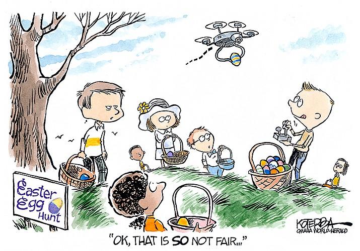 Editorial Cartoon | April 3, 2019