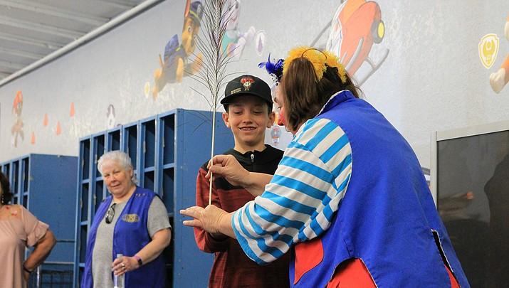 Clown brings circus to Rec Center