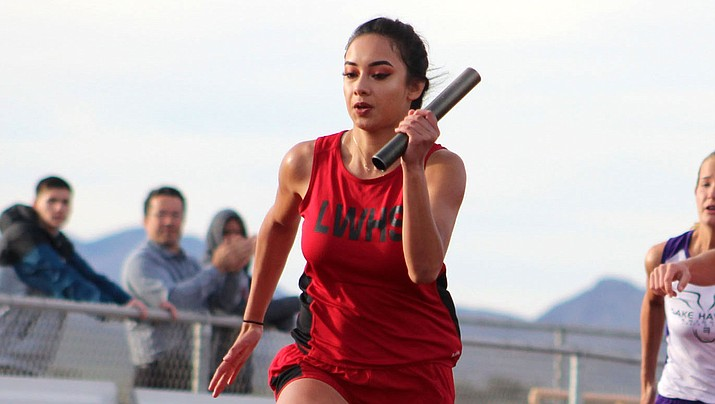 Lee Williams senior Darleen Bland set a new personal record in the 400 as she finished in 1:00.73 for first place at the Greenway Invitational in Phoenix. (Daily Miner file photo)