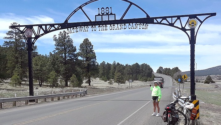 77-year-old Chicago grandmother bicycles across U.S., stops in Williams