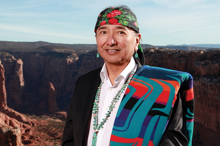 Diné author and poet Rex Lee Jim recently released  'Saad Lá Tah Hózhóón: A Collection of Diné Poetry.' The book highlights Navajo language and culture. (Submitted photo)