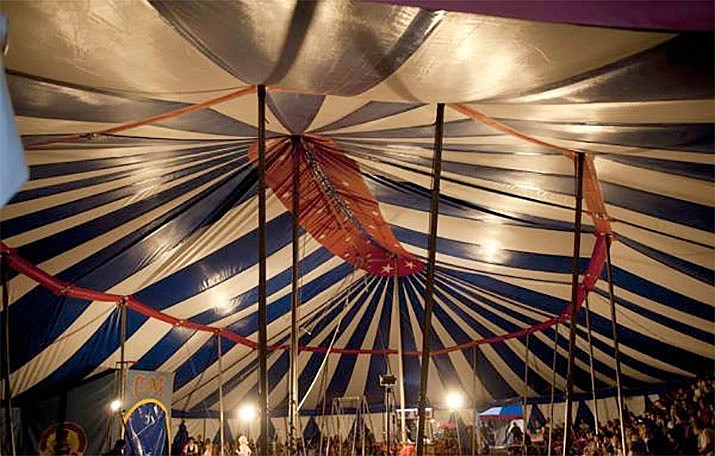 Culpepper & Merriweather Circus is coming to Paulden for two shows on Thursday, April 18. (Lacey Terrell/Courtesy)