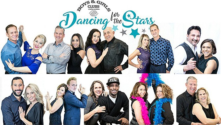 Dancing for the Stars fundraising event to benefit Boys & Girls Clubs of Central Arizona, with clubs in Prescott, Prescott Valley and Chino Valley, 1 p.m. matinee (tickets still available), 7 p.m. (sold out), April 13, The Elks Theater and Performing Arts Center, 117 E. Gurley Street. For tickets, 928-776-8686 or dancingforthestars.net.