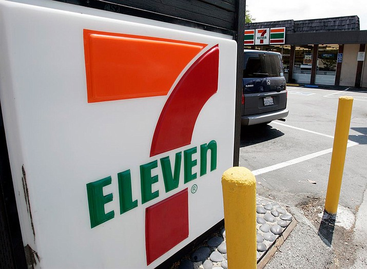 "Police responded to a 7-Eleven in Rhode Island the afternoon of April 3 for a report of a naked customer. The owner said the man with a ""smile on his face"" purchased a soda and left in a car. (AP File Photo)"