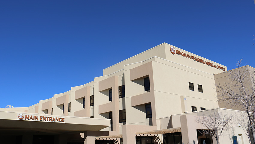 Letter | Thank you Kingman Regional Medical Center