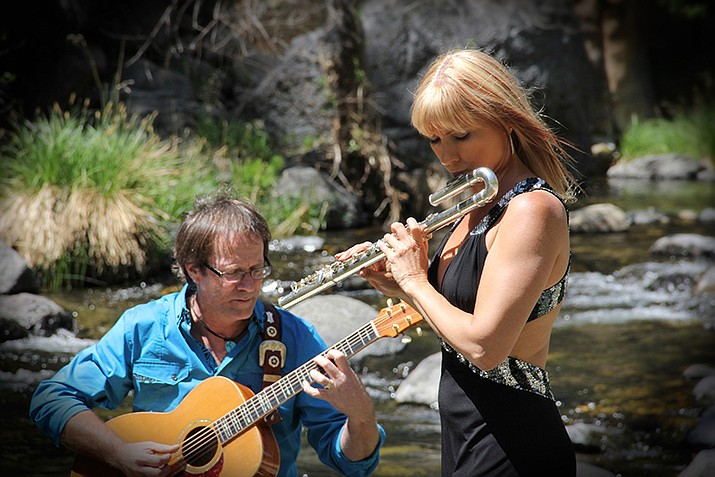The Finzer Mahoney Duo is scheduled to perform in Kingman Saturday, April 13 at the Kingman Center for the Arts, 208 E. Beale St. (Photo courtesy of The Finzer Mahoney Duo)