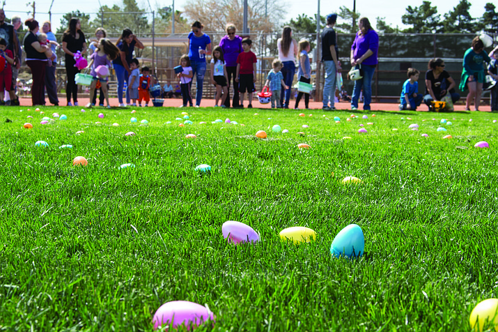 The City's Easter egg hunt is Saturday, April 20. (Daily Miner file photo)