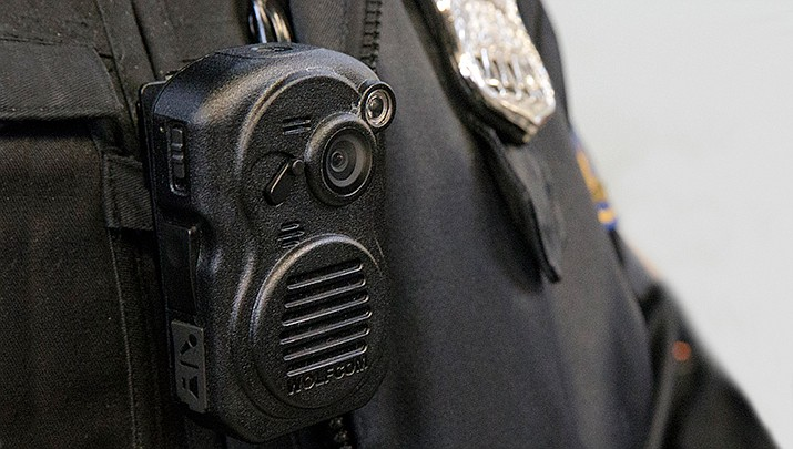 The Phoenix Department on Monday, April 15, 2019, will begin its rollout of a dramatic increase in its use of body cameras worn by officers while on duty. (Courier file photo)