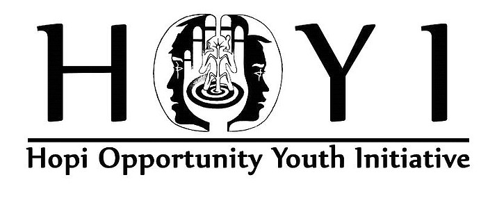The Hopi Opportunity Youth Initiative current logo (above) is complex. HOYI is seeking Hopi artists to design a new logo. (Photo courtesy of HOYI)