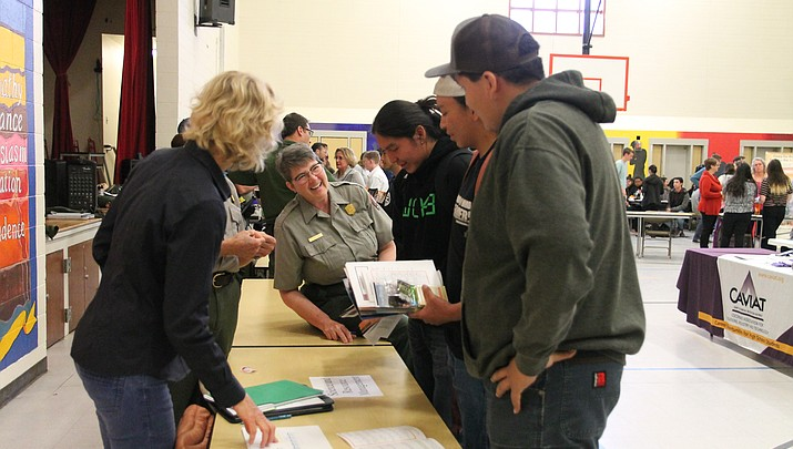 Students prepare for success at Grand Canyon School job fair