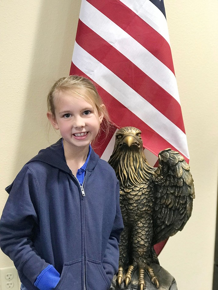 Hayleigh Flippen from Liberty Traditional has been named this week's HUSD Student of the Week. (Courtesy)