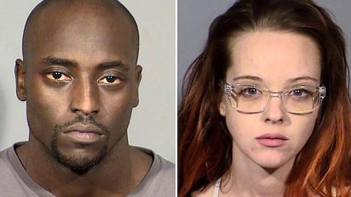 Cierre Wood, left, and Amy Taylor (Las Vegas Metropolitan Police Department)