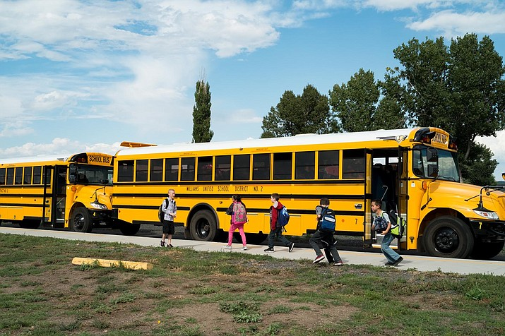 Williams Unified School District is one of 55 schools selected to receive a new school bus following a lawsuit settlement with Volkswagen. (Wendy Howell/WGCN)
