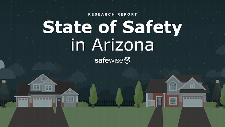 Prescott Valley is the 11th safest city in Arizona, according to a new ranking by a data collection company called SafeWise. Prescott Valley and Lake Havasu City were the only northern Arizona communities included in the list of the 20 safest cities in Arizona. (Art courtesy of SafeWise.com)